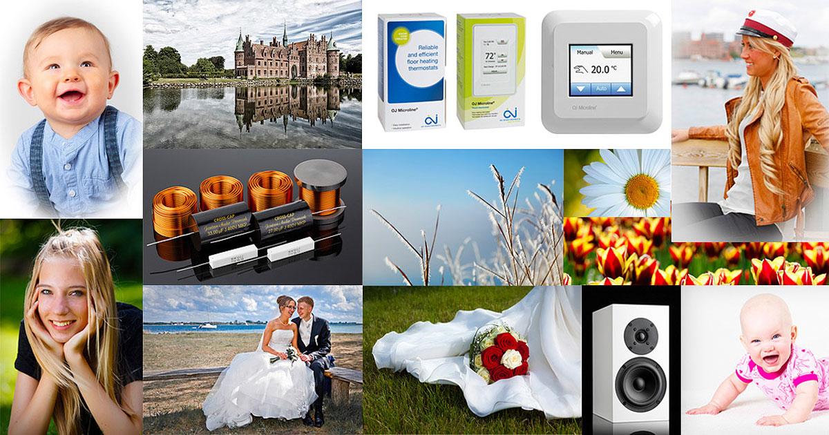 Bryllup, Konfirmation, Portræt, Børn, Produkt fotografering