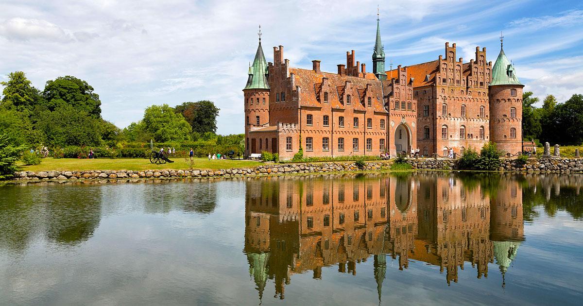Egeskov Slot - Fyn - Danmark